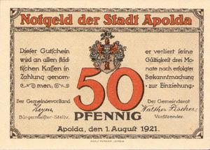 Germany, 50 Pfennig, 36.3b