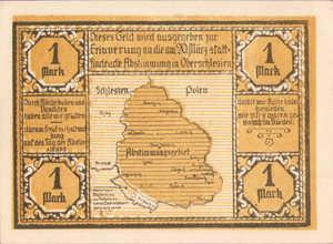 Germany, 1 Mark, 104.3b
