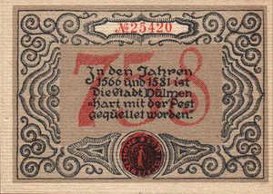 Germany, 75 Pfennig, 295.1a