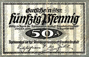 Germany, 50 Pfennig, D32.1