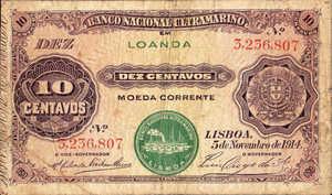 Angola, 10 Centavo, P39b