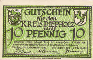 Germany, 10 Pfennig, 273.2