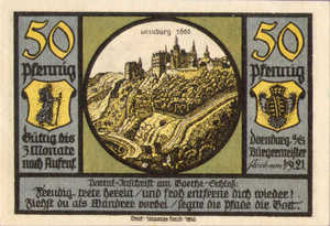 Germany, 50 Pfennig, 281.2