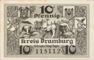 Germany, 10 Pfennig, 286.1a