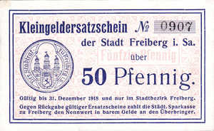 Germany, 50 Pfennig, F19.2c
