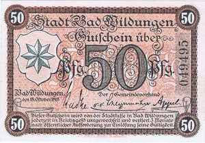 Germany, 50 Pfennig, W43.3