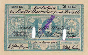 Germany, 10 Mark, 388.02b