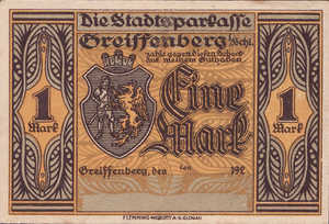 Germany, 1 Mark, 470.3b