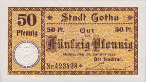 Germany, 50 Pfennig, 456.1a