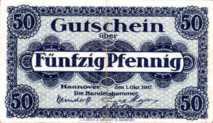 Germany, 50 Pfennig, H13.2b