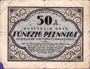 Germany, 50 Pfennig, L58.3b