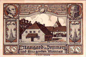Germany, 50 Pfennig, 923.1a