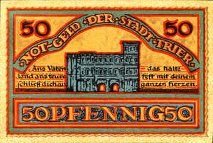 Germany, 50 Pfennig, T27.9