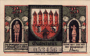 Germany, 25 Pfennig, 1469.2a