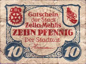 Germany, 10 Pfennig, Z6.2