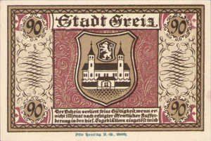 Germany, 90 Pfennig, 471.2
