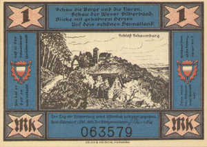 Germany, 1 Mark, 606.1