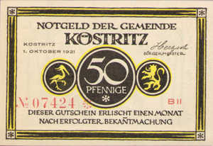 Germany, 50 Pfennig, 736.4