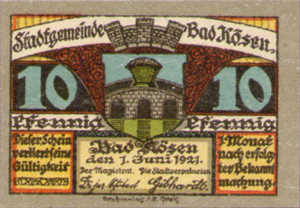 Germany, 10 Pfennig, 734.1a