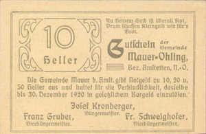 Austria, 10 Heller, FS 599f