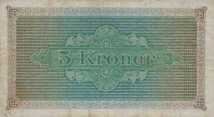 Faeroe Islands, 5 Krone, P10, 854, 16, Lot 261