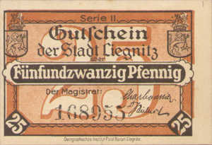 Germany, 25 Pfennig, L42.9b