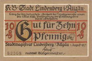 Germany, 10 Pfennig, L47.2a