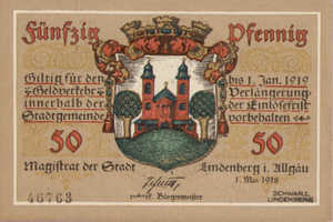 Germany, 50 Pfennig, L47.4c