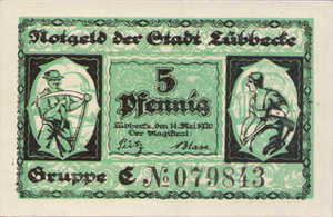 Germany, 5 Pfennig, L67.1a