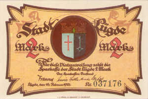 Germany, 2 Mark, 838.1