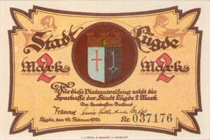 Germany, 2 Mark, 838.1
