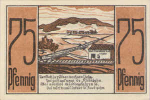 Germany, 75 Pfennig, 875.1