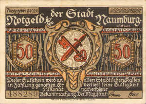 Germany, 50 Pfennig, 928.2b