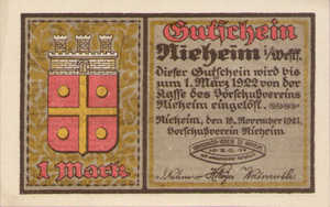 Germany, 1 Mark, 972.1
