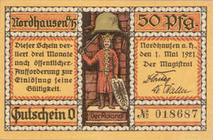 Germany, 50 Pfennig, 987.1f
