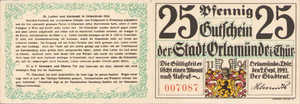 Germany, 25 Pfennig, 1025.1a