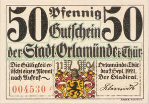 Germany, 50 Pfennig, 1025.1a