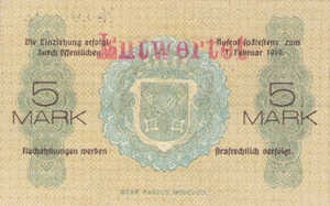 Germany, 5 Mark, 440.01a