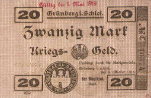 Germany, 20 Mark, 201.14a