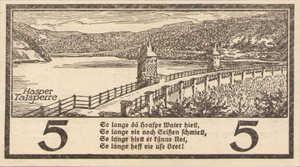 Germany, 5 Mark, 224.01