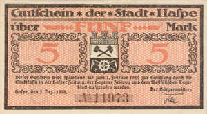 Germany, 5 Mark, 224.01
