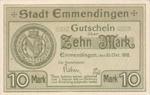 Germany, 10 Mark, 133.04b
