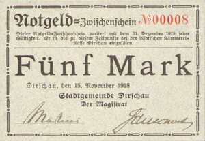 Germany, 5 Mark, 104.01a