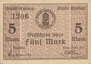 Germany, 5 Mark, 131.02b