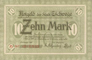 Germany, 10 Mark, 138.02b