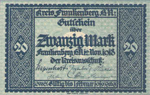 Germany, 20 Mark, 148.01a