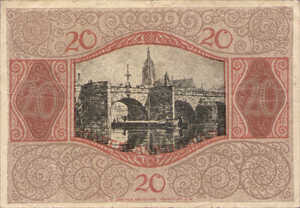 Germany, 20 Mark, 150.07b