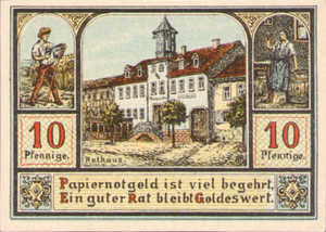 Germany, 10 Pfennig, 1062.1