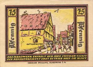 Germany, 75 Pfennig, 1086.1