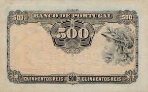 Portugal, 500 Real, P105a Sign.2